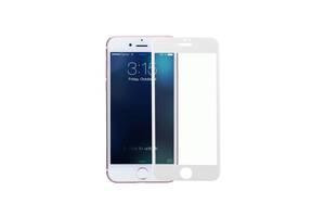 Защитное стекло 3D Full Cover для iPhone 8 Белый|Полное покрытие|айфон 8 белый
