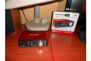 Звуковая карта (внешняя) Focusrite Scarlett Solo 2nd generation