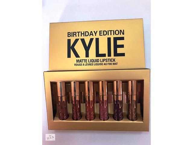 бу Набор из 6 матовых помад Kylie Birthday Edition (645471882) в Киеве