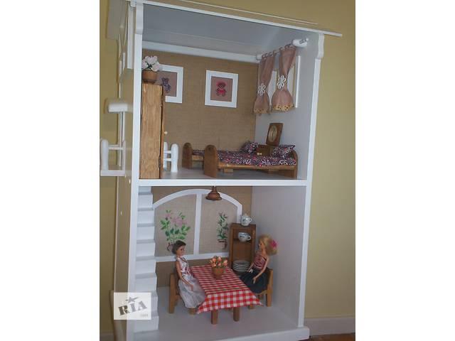 продам Деревянный дом для куклы бу в Львове