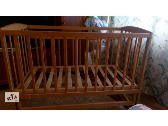 Детская кроватка- объявление о продаже  в Черкассах