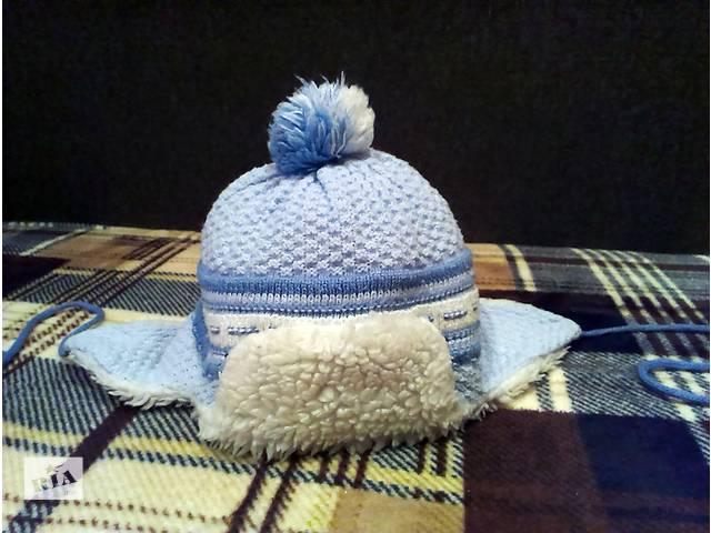 Детская шапочка на холодную осень-теплую зиму. Когда мы покупали - не пожалели! Посмотрите сами.- объявление о продаже  в Краматорске