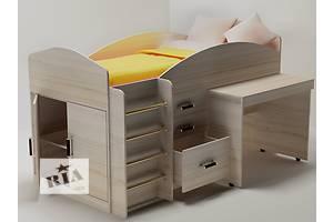 Дитячі ліжка горища