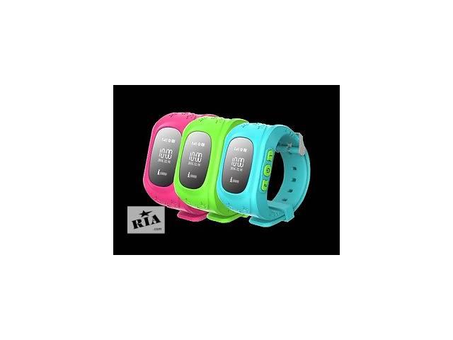 купить бу Детские умные часы Smart Baby Watch Q50 с GPS. Инструкция на русском языке. Настройка. в Киеве