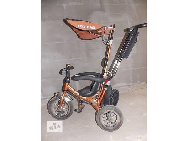 купить бу Детский 3-ох колесный велосипед с ручкой Lexus Trike в Старой Выжевке