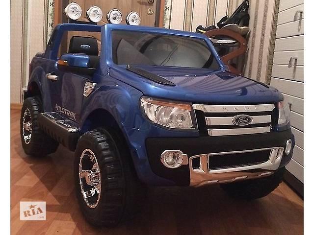 бу Детский электромобиль ford ranger f-150 синий, авто покраска в Днепре (Днепропетровск)