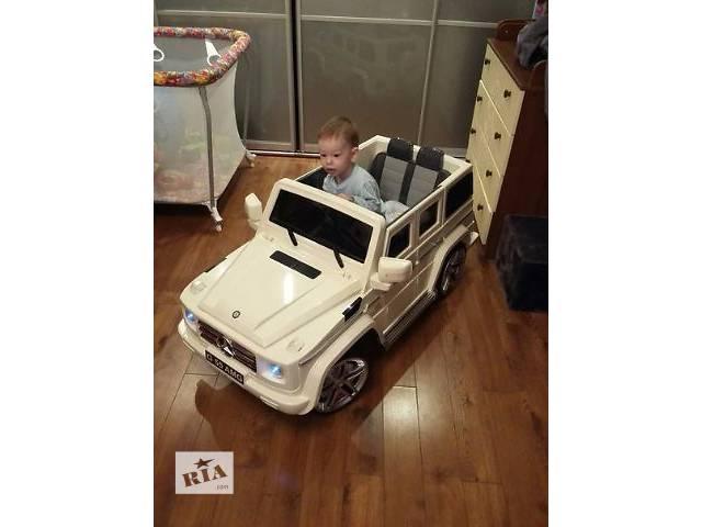 продам Детский электромобиль кубик Mercedes G55 EBRS-2 BLACK кубик бу в Львове