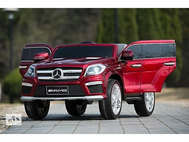 продам Детский электромобиль Mercedes AMG GL 63 - DARK RED бу в Львове