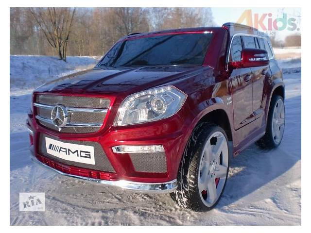 бу Детский электромобиль Mercedes AMG GL 63 EVA колесо пульт 2. 4 в лаке в Львове