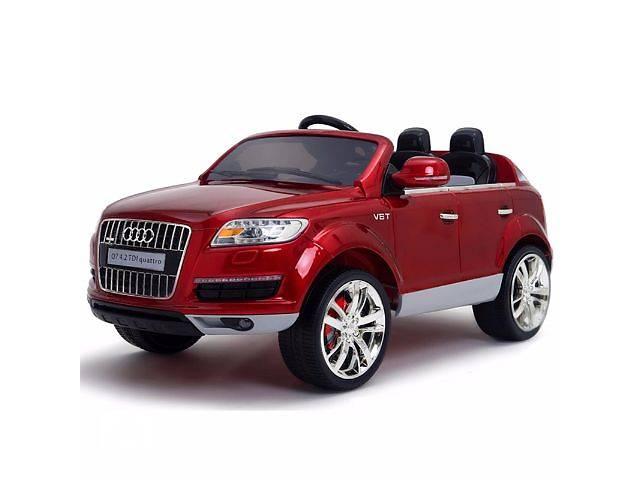 купить бу Детский электромобиль Audi Q7 Quattro: лицензия, покраска RED в Киеве