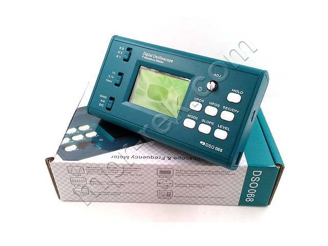 продам DIY набор для сборки портативного осцилографа конструктора ( 3Мгц, 8-бит) JYETech DSO086 версия 06804K + щуп бу в Дубні