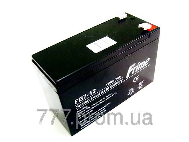 продам Для эхолотов аккумуляторная батарея  FRIME FB7-12AGM, АКБ 12В-7Ач для бесперебойного питания в Украине бу в Харькове