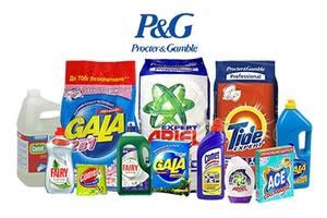Стиральные порошки Procter&Gamble