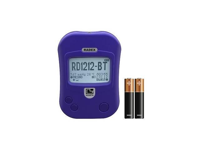 бу Дозиметр радіації (bluetooth)  RADEX RD1212BT ПРАЙМЕД в Дубні (Рівненській обл.)