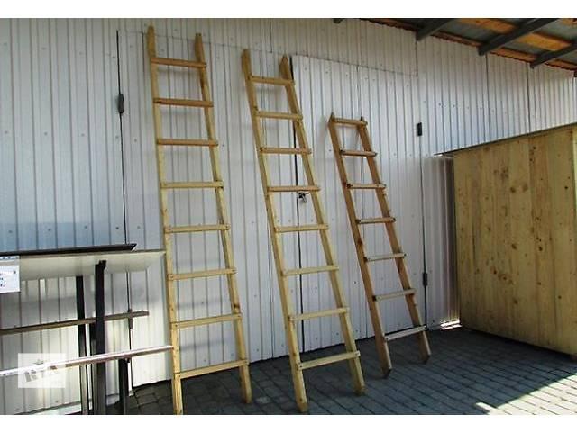 продам Лестницы деревянные 3м бу в Виннице