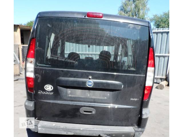 бу Дверь задняя (Ляда Кляпа) для Фиат Добло Fiat Doblо 1.9 Jtd 2000-2009 в Ровно