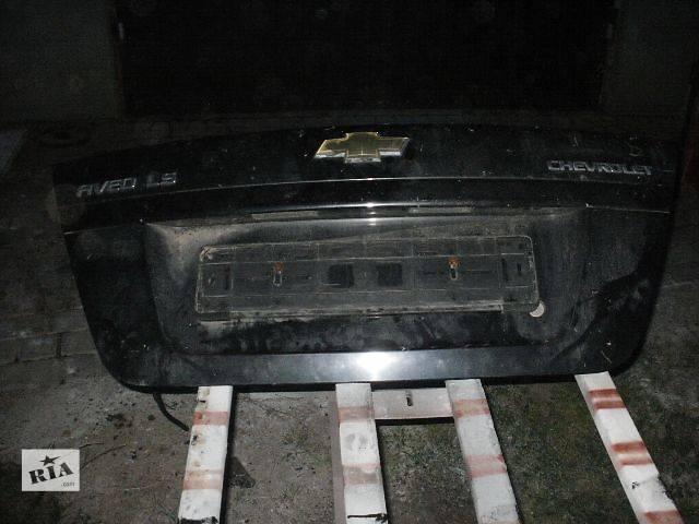 купить бу Двери/багажник и компоненты Крышка багажника Легковой Chevrolet Aveo Седан 2007 в Нововолынске