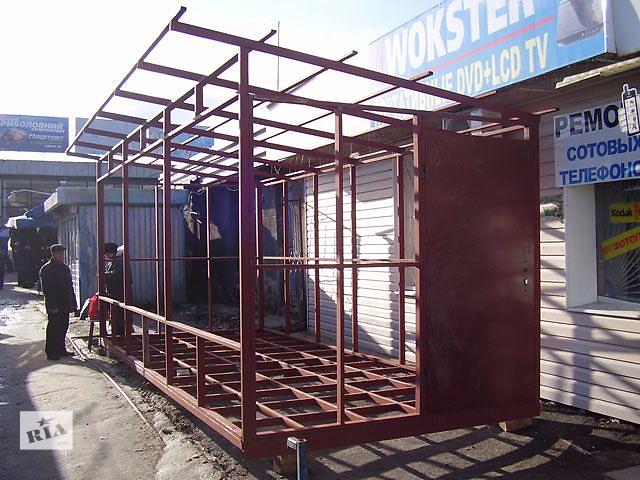 купить бу Двери стальные, ворота , решётки , лестницы, козырьки, навесы, любые металлоконструкции. в Харькове