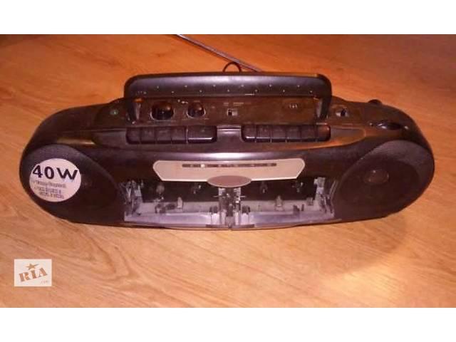 купить бу Двухкассетный магнитофон в Ровно
