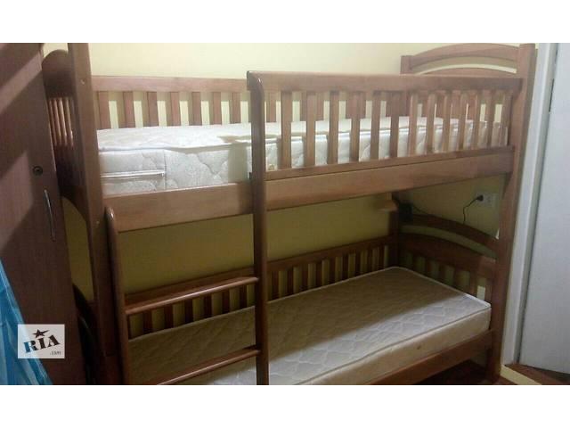 купить бу Двухъярусная кровать КаринаСП со съемными бортиками в комплекте ящики,матрасы в Одессе