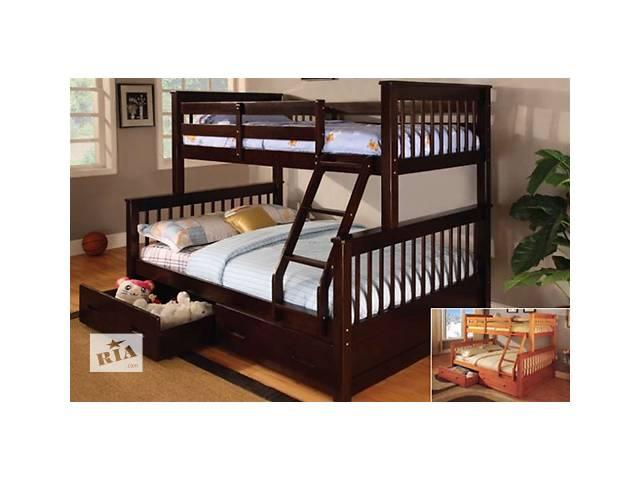 бу двухярусная кровать жасмин люкс в Лубнах