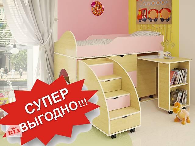 Бесплатная доставка Кровати + Стола. Детям от 3 лет!