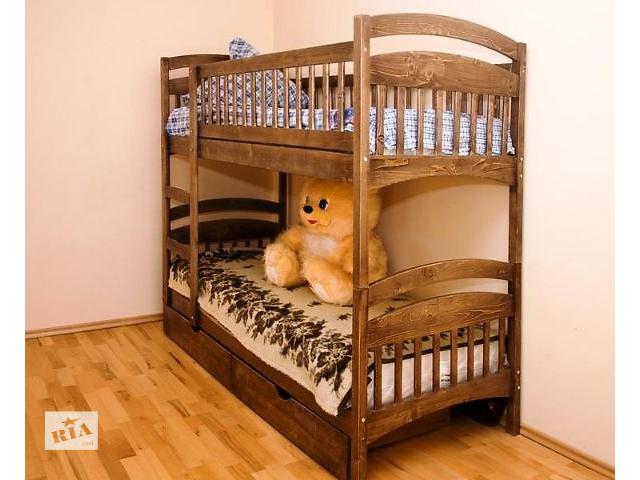 двухъярусные кровати из натурального дерева напрямую со склада Производителя комплектуем ящиками и Матрасами- объявление о продаже  в Одессе