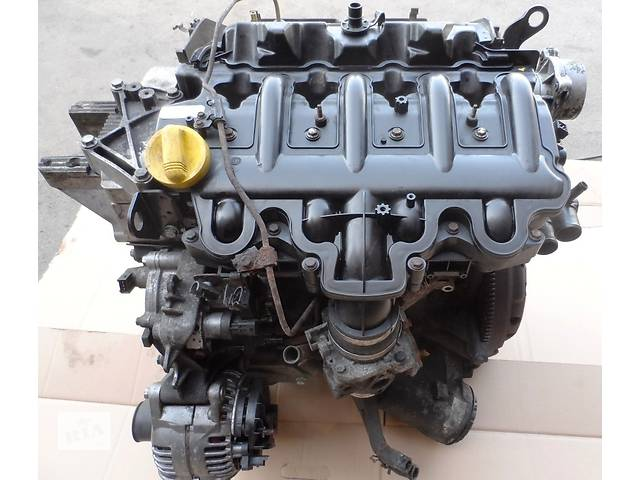 бу Двигатель Двигун Мотор на Рено Мастер Renault Master Opel Movano Опель Мовано 2.5 dCI 2003-2010 в Ровно