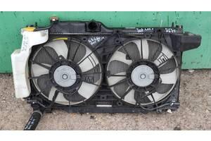 Диффузор кожух радиатора с вентиляторами и крыльчатками Subaru Legacy BN/B15 15-19