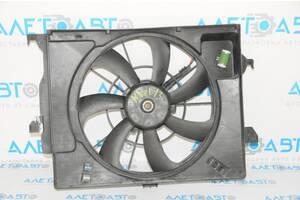 Диффузор кожух радиатора в сборе Hyundai Veloster 12-14 25380-1R050 разборка Алето Авто запчасти Хьюндай Велостер