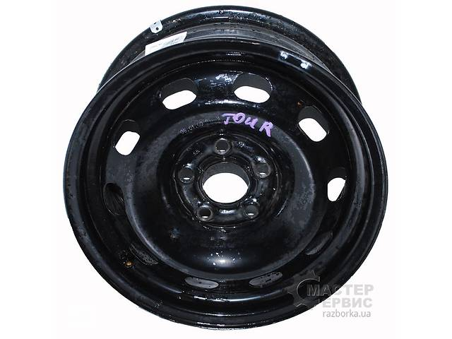 бу Б/у Диск колёсный металл 6J R14 14*6/5*100/38/57.1 SKODA OCTAVIA TOUR 96-10  1J0601027J в Харкові