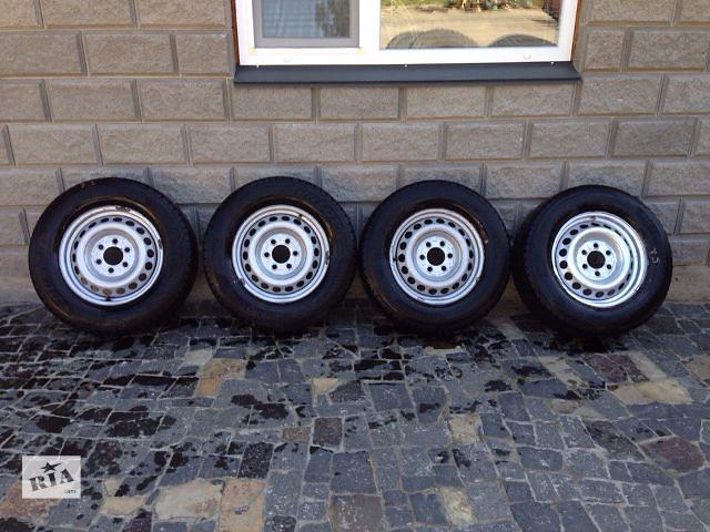купить бу Диск R16 резина колпак запаска Mercedes Sprinter Спринтер 906 Volkswagen Crafter в Ровно