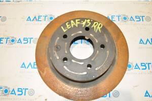 Диск тормозной зад прав Nissan Leaf 11-17 43206-8H701 разборка Алето Авто запчасти Ниссан Лиф