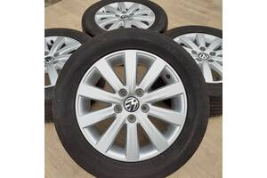 Диски + шины VW Оригинал R17 5x120 7j et55 Amarok Crafter T5 T6