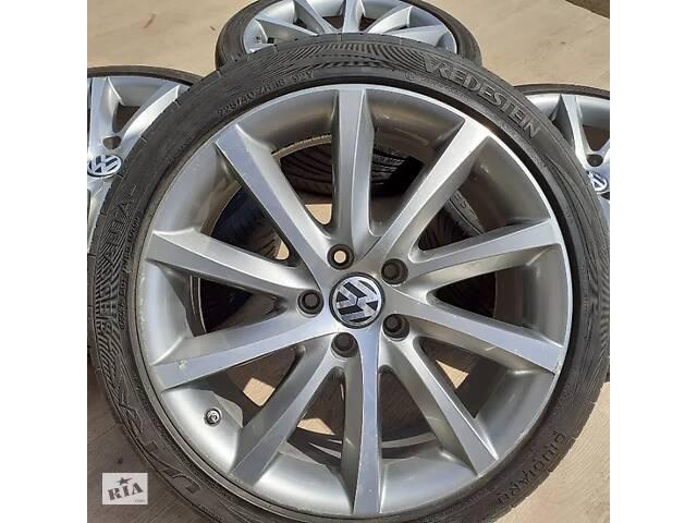бу Диски VW R18 5x112 Audi A4 A6 Passat Sharan Tiguan Skoda Superb в Львове
