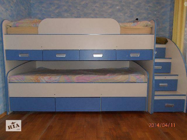 Дитячі ліжечка Двоярусні дитячі ліжка Б у - Дитячі меблі в Тернополі ... 2bf60d663e35c