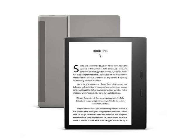 продам Электронная книга с подсветкой Amazon Kindle Oasis (10th Gen) 8GB Graphite бу в Харькове