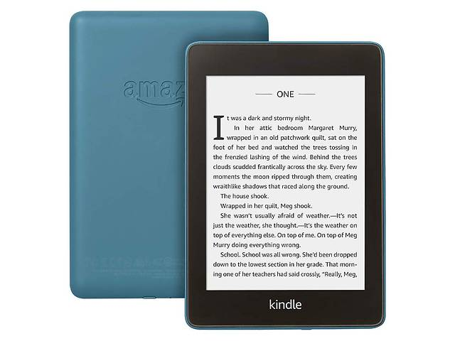бу Электронная книга с подсветкой Amazon Kindle Paperwhite 10th Gen. 8GB Twilight Blue в Харькове