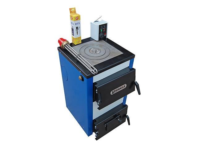 Электро-твердотопливный котел Tehni-x KOTВ-15-УП- объявление о продаже  в Сумах