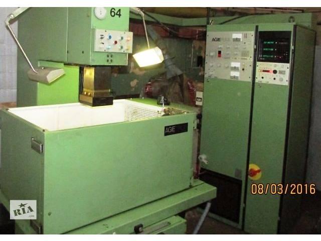 Электроэрозионный копировально - прошивной станок AGIE модели AGIETRON EMS-3 в Киеве Б/У- объявление о продаже  в Киеве