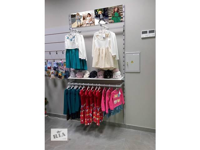 продам Торгове обладнання б у (стелажі і меблі) у магазин дитячого одягу бу f4d47bad38d43
