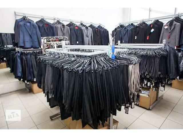 купить бу Торгове обладнання (стелажі   меблі) для магазину чоловічого одягу  в Києві 53ba85333b888