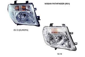 Новые Фары Nissan Pathfinder