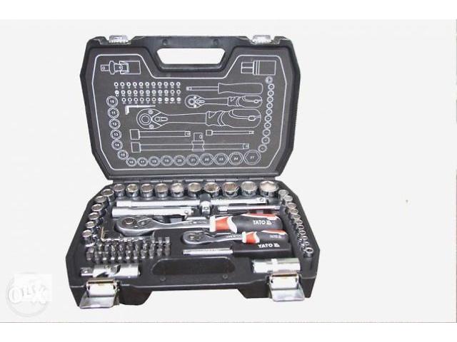 продам Фірмовий набір ключів CR-V: торцевые ключи, биты,трещетки YATO -38782 бу в Дрогобыче