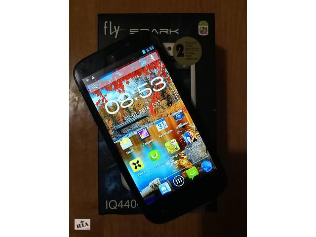 купить бу Fly IQ4404 Spark (Black) в Киеве