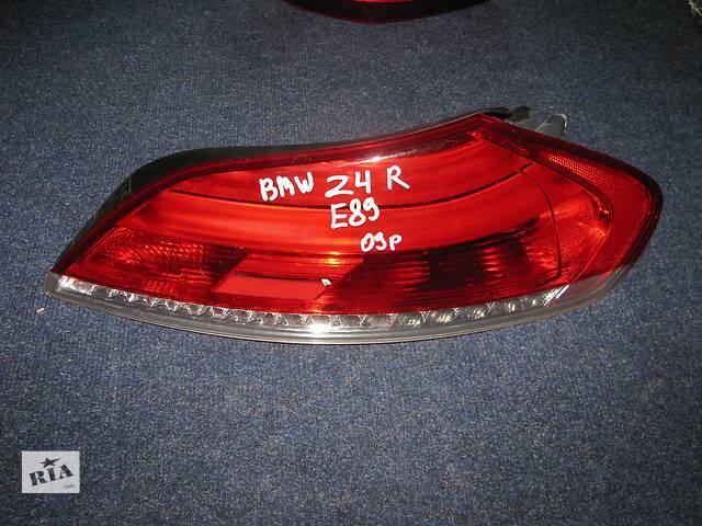 продам фонарь задний для кабриолета BMW Z4 E89 2009-11 LED бу в Львове