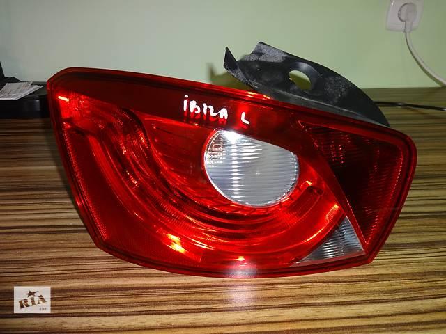 купить бу фонарь задний для хэтчбека Seat Ibiza 2010-13 в Львове