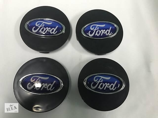 купить бу Ford B-Max 2012↗ гг. Колпачки в титановые диски 55 мм V3 (4 шт) в Черновцах