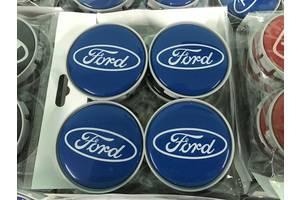 Ford Custom 2013↗ гг. Колпачки в титановые диски 55 мм V4 (4 шт)