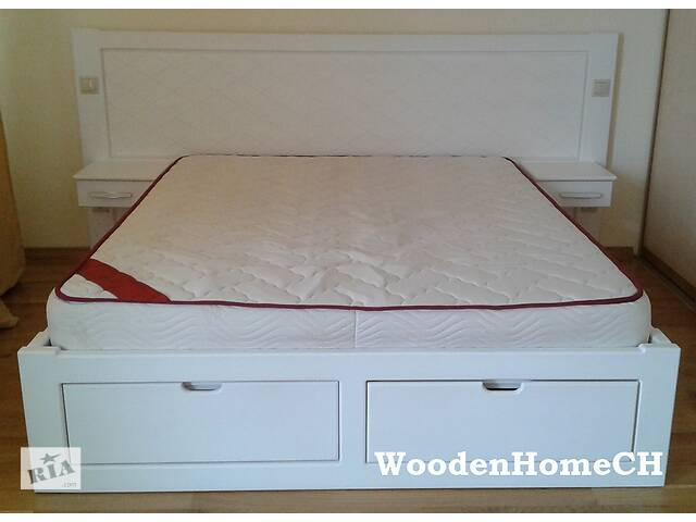 купить бу Двуспальная кровать з массиву сосны. Сосновая кровать, массив дерева массив сосны в Червонограде
